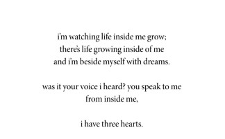 I Have Three Hearts by Warsan Shire